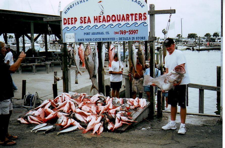 Mexico fishing for Fishing report port aransas