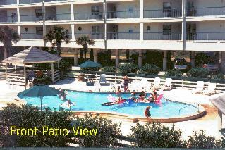 Mustang Island Texas - La Mirage family swimming pool