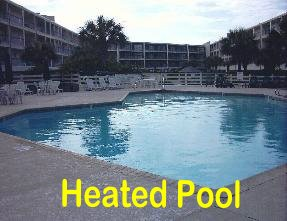 Mustang Island Texas - La Mirage  Adult Swimming Pool